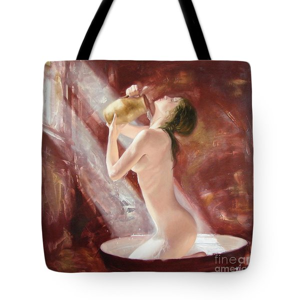 The Freshness Tote Bag by Sergey Ignatenko