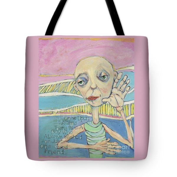 The Friendless Boy Tote Bag