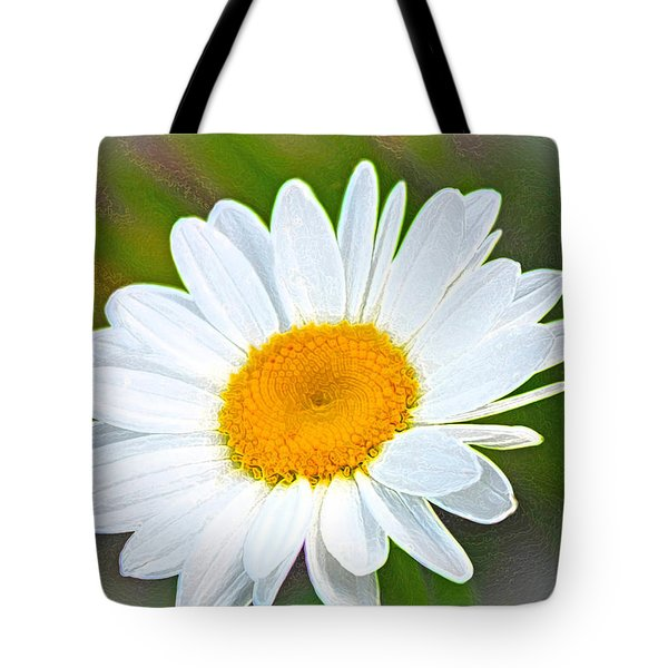 The Friendliest Flower Tote Bag