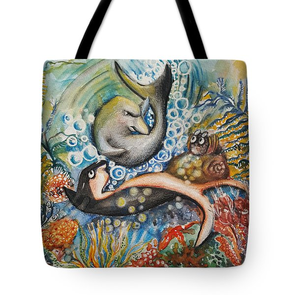 Friends 2 Tote Bag by Rita Fetisov