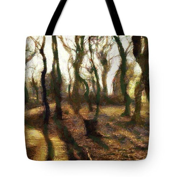 The Frightening Forest Tote Bag by Gun Legler