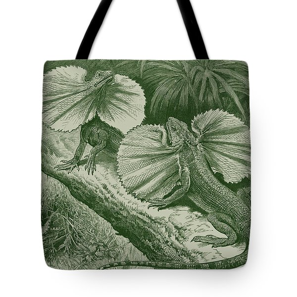 The Frilled Lizard Tote Bag