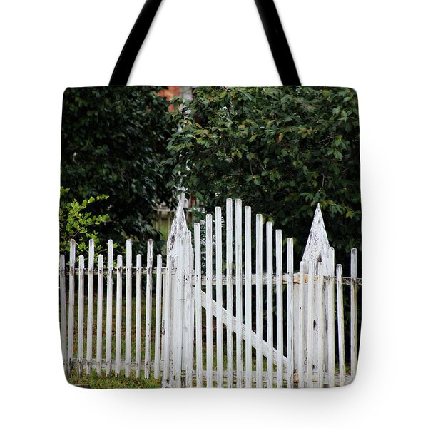 The Front Gate Tote Bag