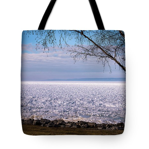 Tote Bag featuring the photograph The Front Is Coming by Onyonet  Photo Studios