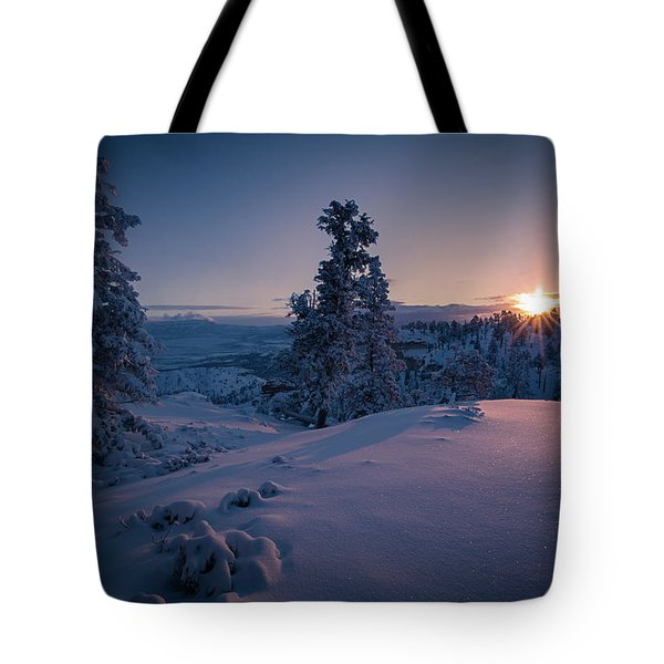 The Frozen Dance Tote Bag