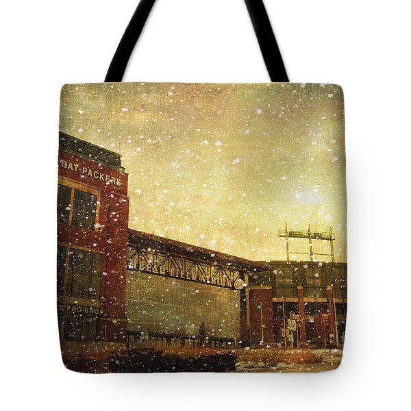 The Frozen Tundra Tote Bag