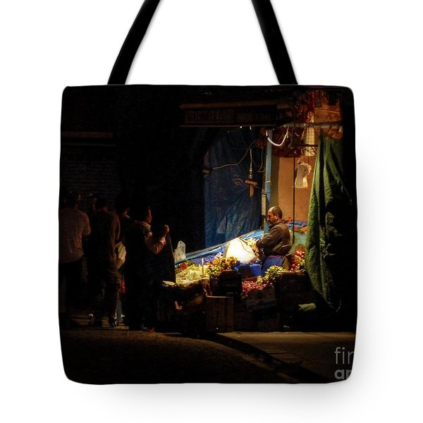 The Fruit Deal Tote Bag by Michael Garyet