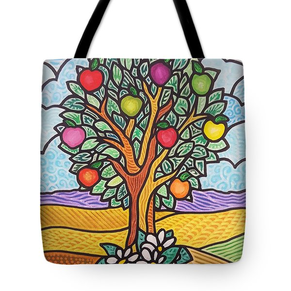 The Fruit Of The Spirit Tree Tote Bag