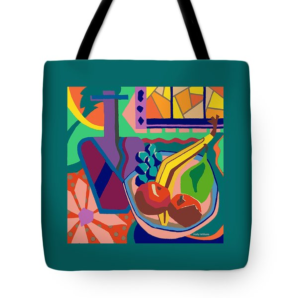 The Fruit Table Tote Bag