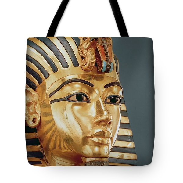 The Funerary Mask Of Tutankhamun Tote Bag by Unknown