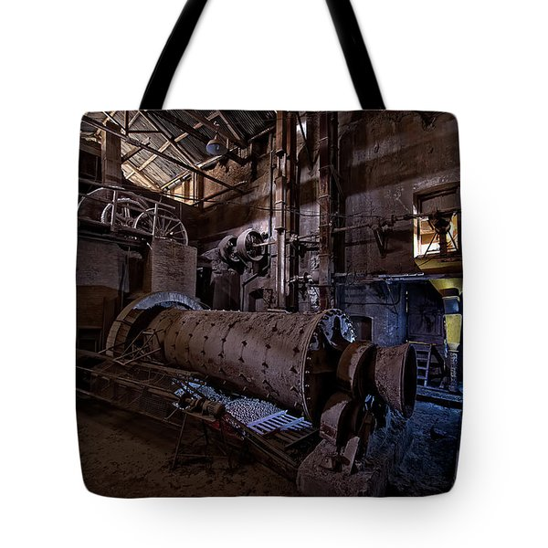 Tote Bag featuring the photograph The Furnace And The Rocket 2  La Fornace E Il Razzo 2 by Enrico Pelos
