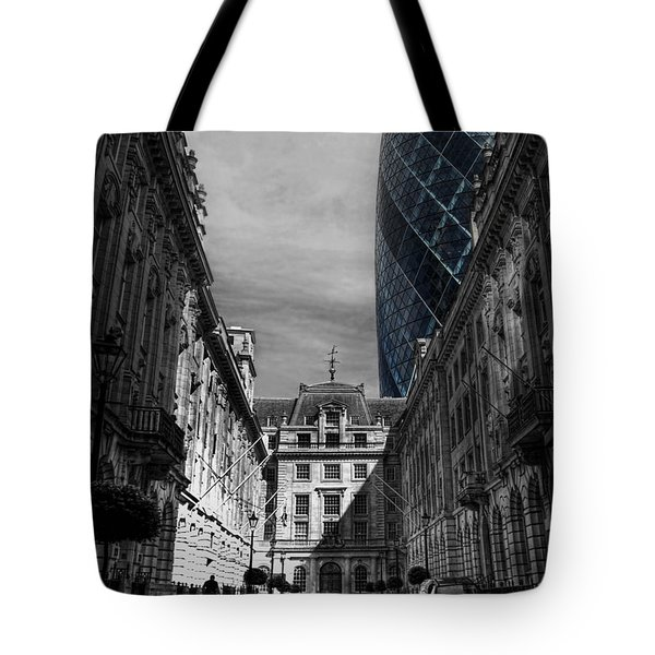 The Future Behind The Past Tote Bag