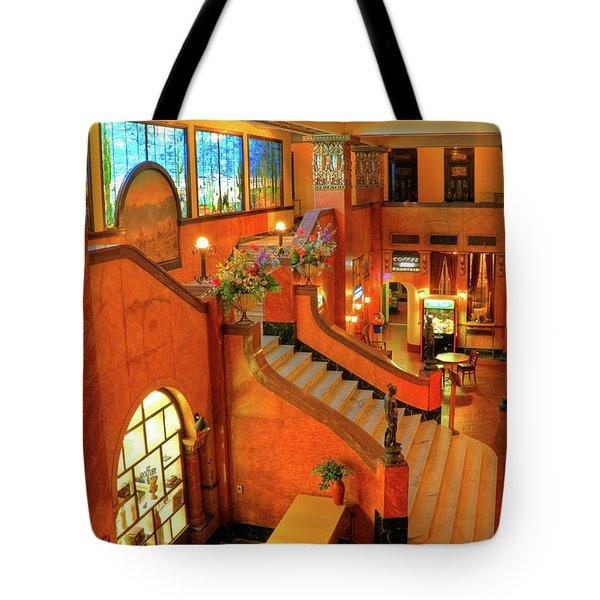 The Gadsden Hotel In Douglas Arizona Tote Bag