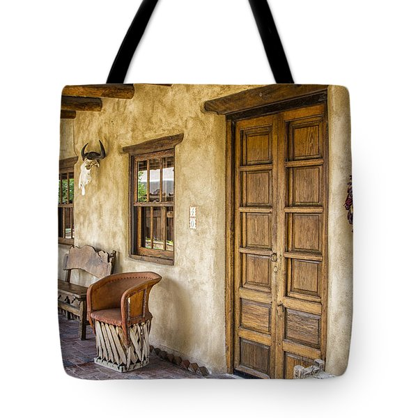 The Gage Hotel Tote Bag by Kathy Adams Clark