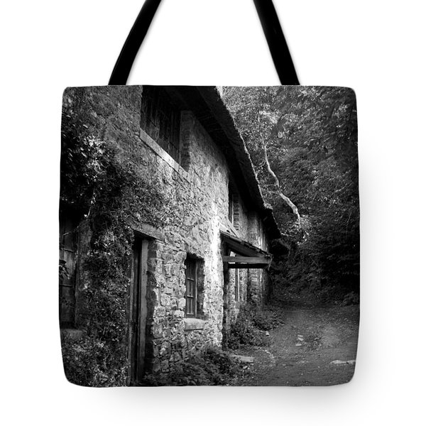 Tote Bag featuring the photograph The Game Keepers Cottage by Michael Hope