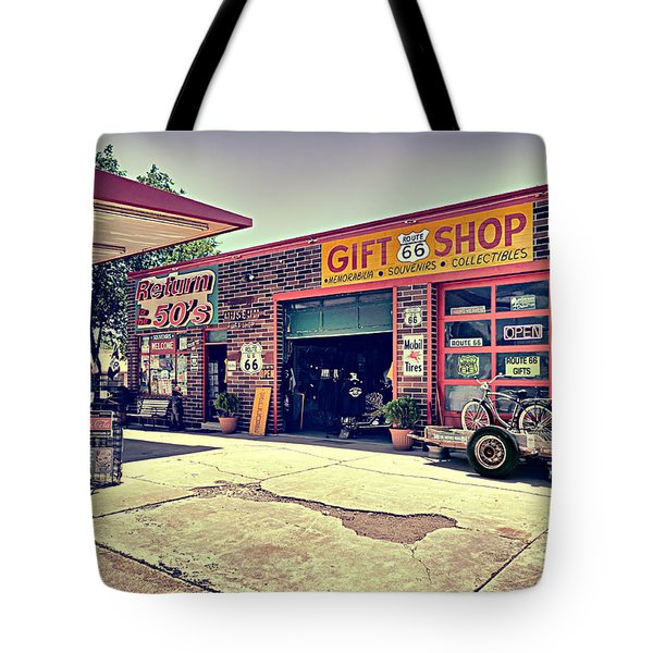 The Garage Tote Bag