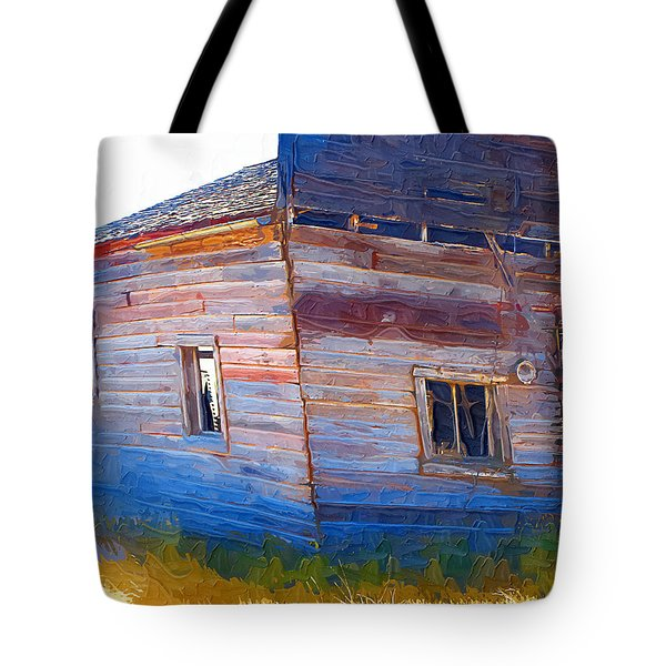 Tote Bag featuring the photograph The Garage by Susan Kinney