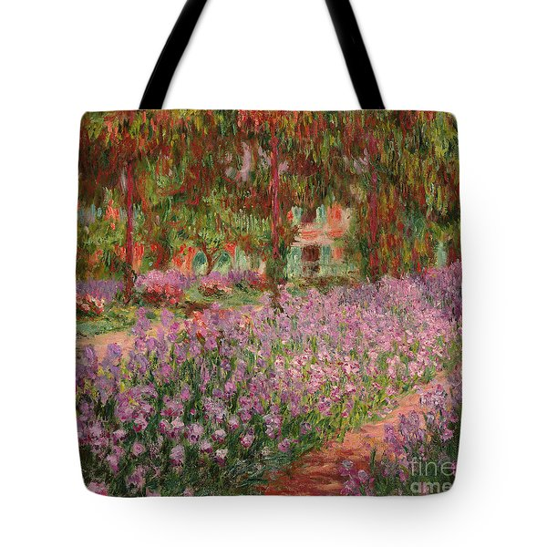 The Garden At Giverny Tote Bag