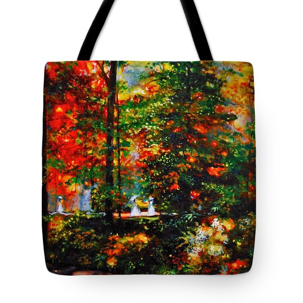 The Garden Tote Bag by Emery Franklin
