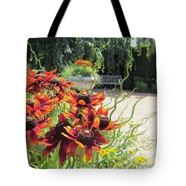 The Garden In August Tote Bag