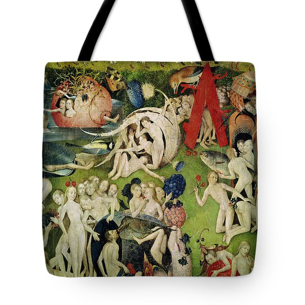The Garden Of Earthly Delights Tote Bag by Hieronymus Bosch