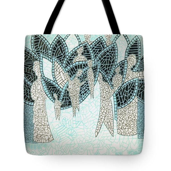 The Garden Of Eden Tote Bag by Reb Frost