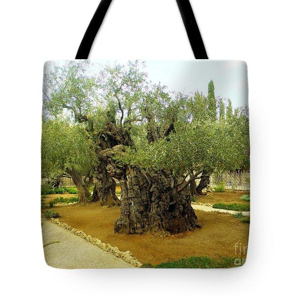 The Garden Of Gethsemane Tote Bag