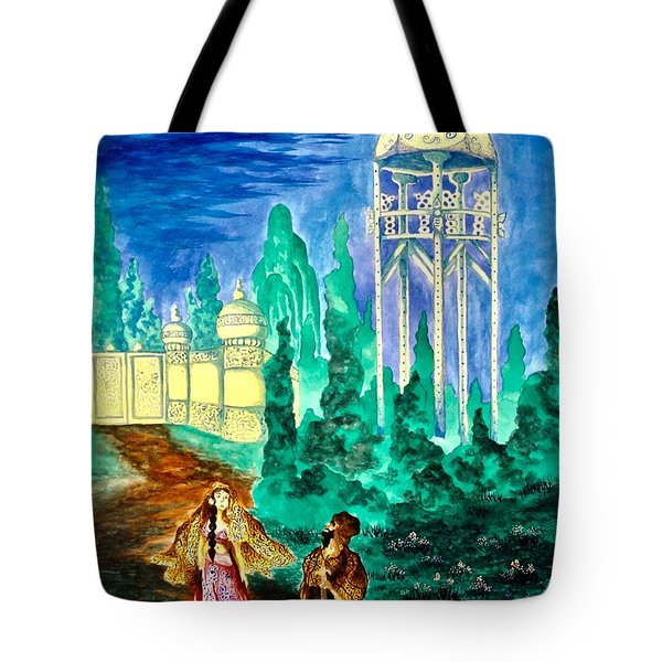 The Garden Of Pictures Tote Bag
