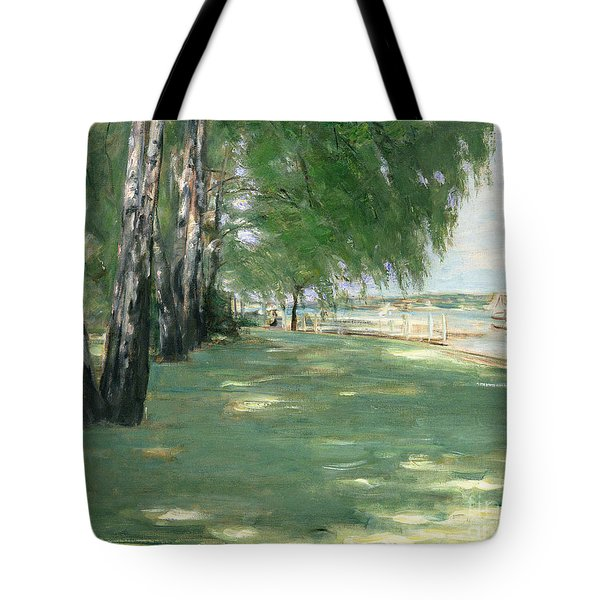 The Garden Of The Artist In Wannsee Tote Bag by Max Liebermann