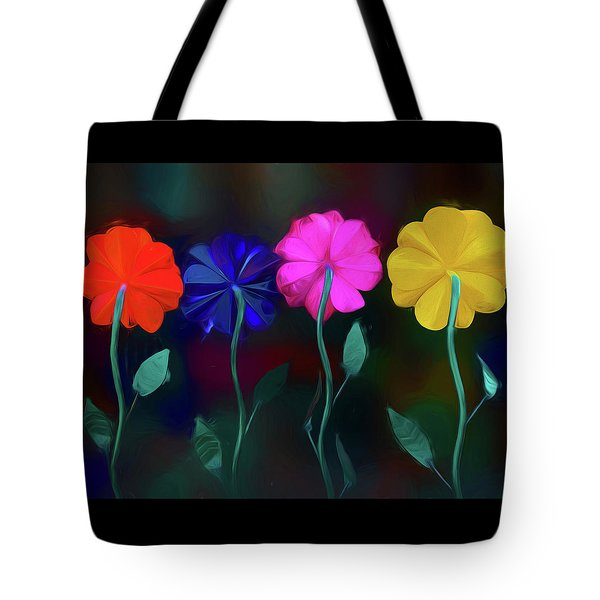 Tote Bag featuring the photograph The Garden by Paul Wear