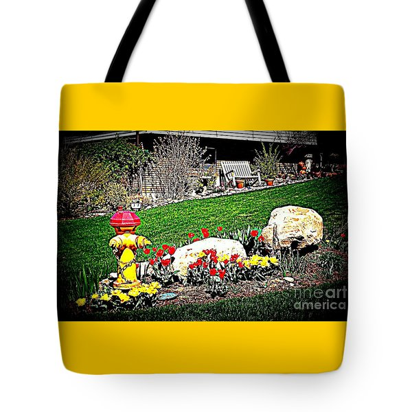 The Gardener Tote Bag by Richard W Linford