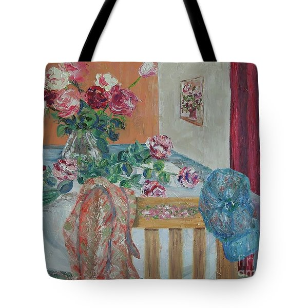 The Gardener's Table Tote Bag