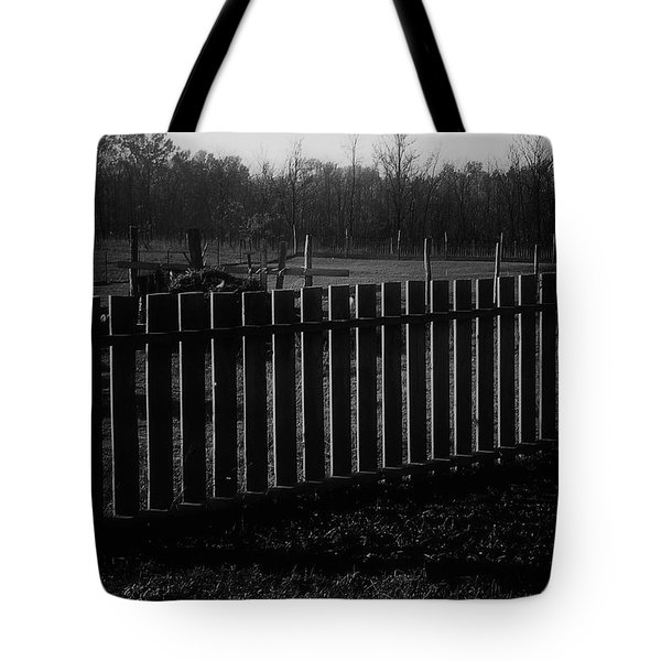 Tote Bag featuring the photograph The Gardengate by Mimulux patricia no No