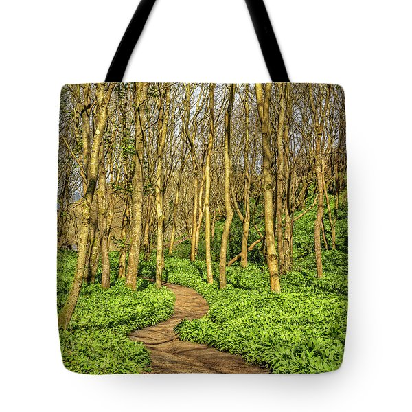 The Garlic Forest Tote Bag by Roy McPeak