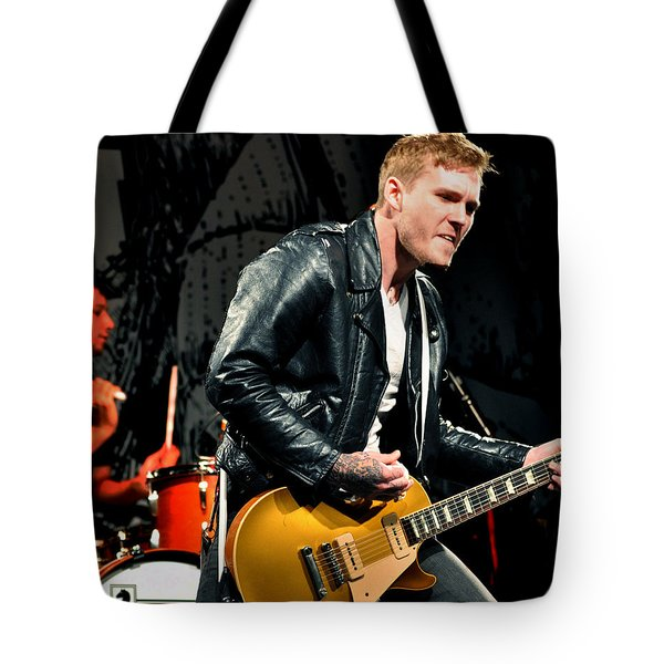 The Gaslight Anthem Tote Bag by Jeff Ross