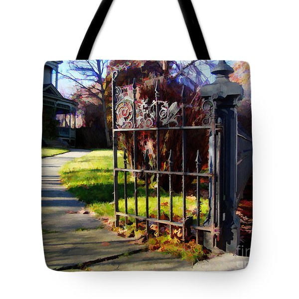The Gate Tote Bag by Betsy Zimmerli