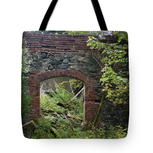 The Gate Into Nothingness Tote Bag