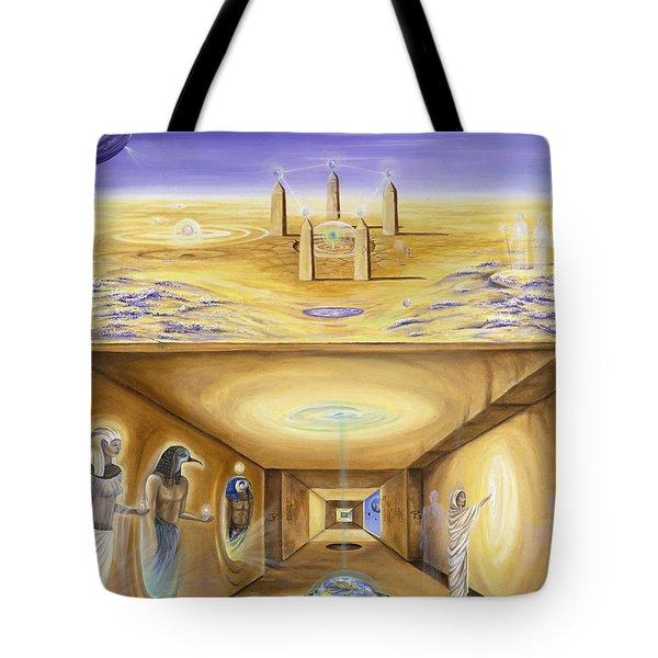 The Gate Keeper Tote Bag by Teresa Gostanza