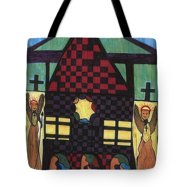 The Gate Keepers Tote Bag by Darrell Black