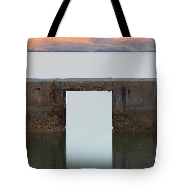 Tote Bag featuring the photograph The Gate Of Freedom by Davor Zerjav