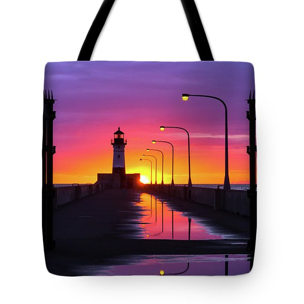 Tote Bag featuring the photograph The Gates Of Dawn by Mary Amerman