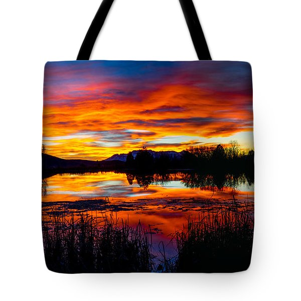 The Gates Of Heaven No. 2 Tote Bag