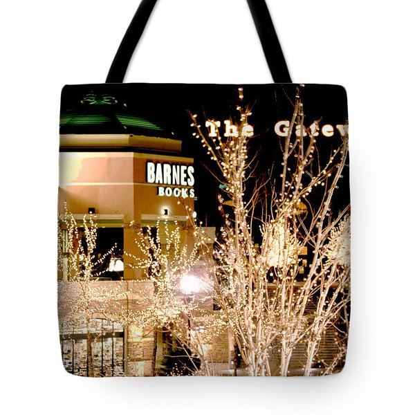 The Gateway Mall Tote Bag by Gary Baird