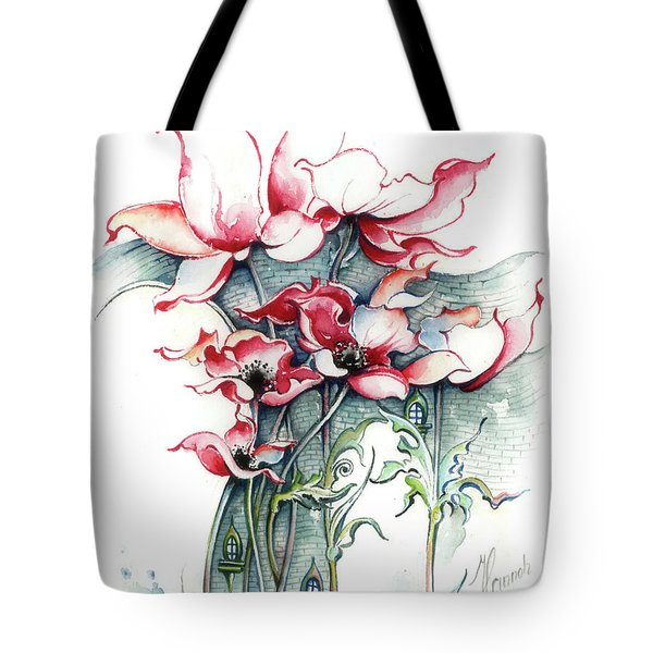 The Gateway To Imagination Tote Bag by Anna Ewa Miarczynska