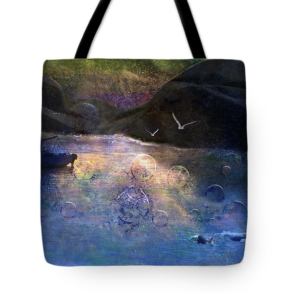 The Gathering Tote Bag by Ed Hall