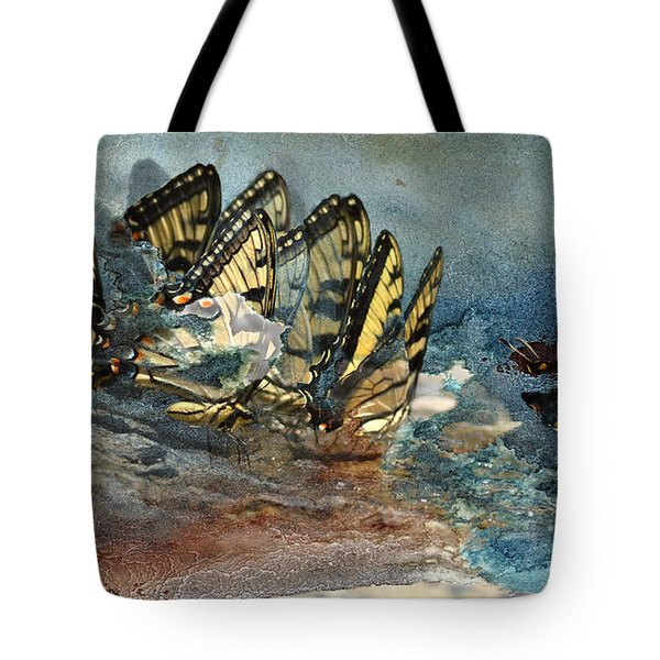 The Gathering Tote Bag by Kathy Russell