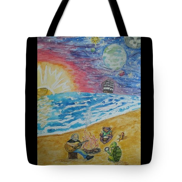 The Gathering Tote Bag by Thomasina Durkay