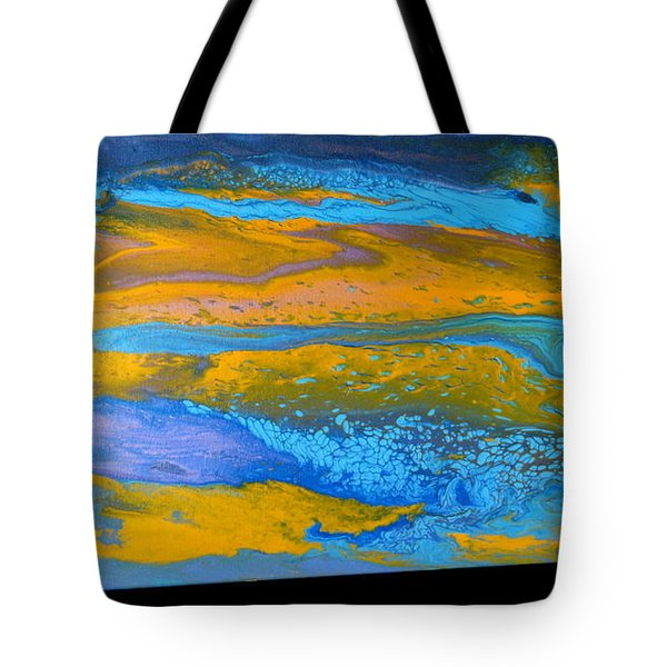 the GATOR in abstracr Tote Bag