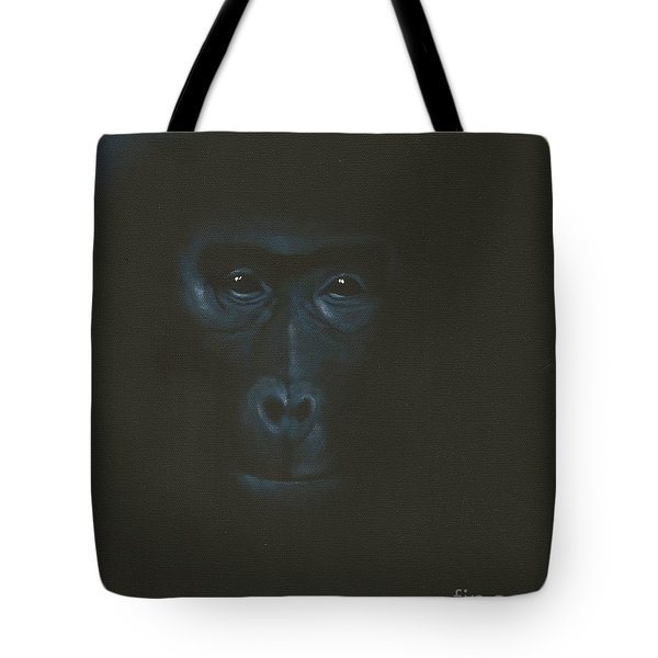 Tote Bag featuring the painting The Gentle Giant by Annemeet Hasidi- van der Leij