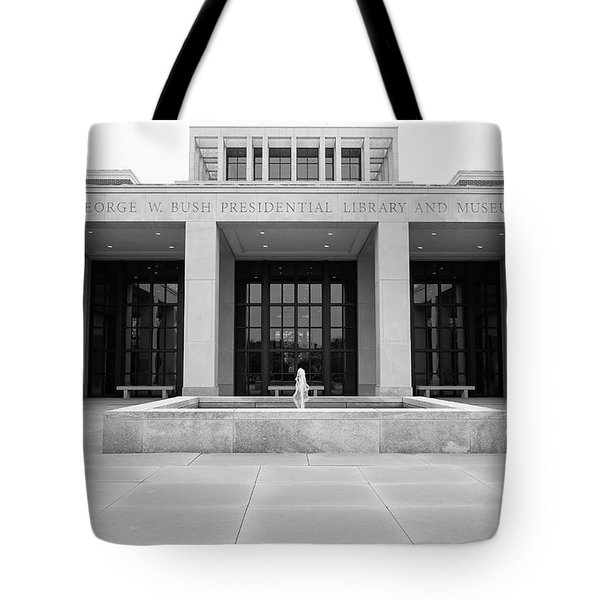The George W. Bush Presidential Library And Museum  Tote Bag by Robert Bellomy